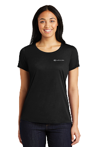 Sport-Tek® Ladies PosiCharge® Competitor™ Cotton Touch™ Scoop Neck Tee
